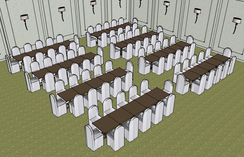 Raumpläne Und Tischformen